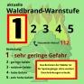 Waldbrand-Warnstufe-1