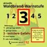 Waldbrand-Warnstufe-3